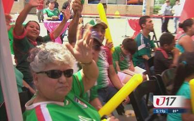 Fanáticos de San Antonio salieron a apoyar a sus equipos