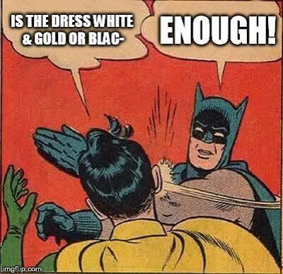 Para quienes ya estaban hartos de tanto show, como Batman.