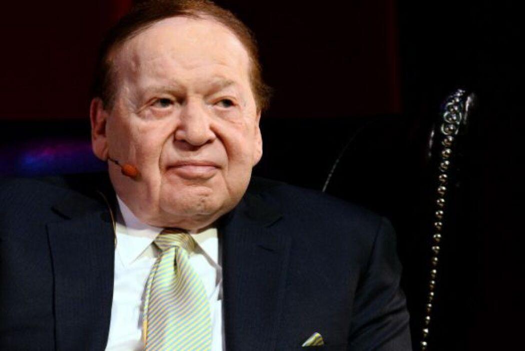 NEVADA.  Sheldon Adelson, el presidente de Las Vegas Sands Corporation,...