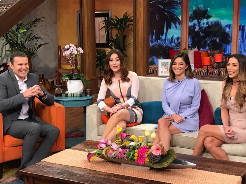 Michelle Galván y Pamela Silva-Conde en Despierta América