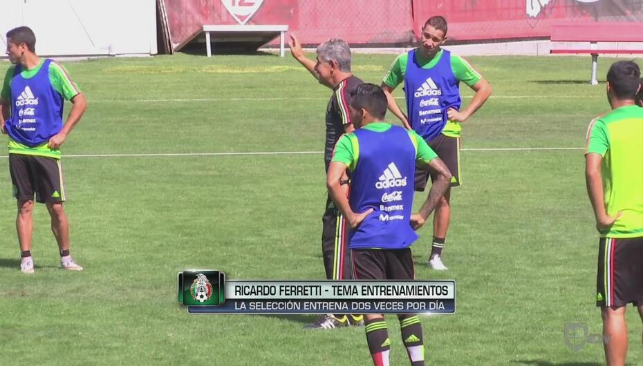 """Nuevas dinámicas y armonía en el 'Tri' del 'Tuca' Ferretti"""""""