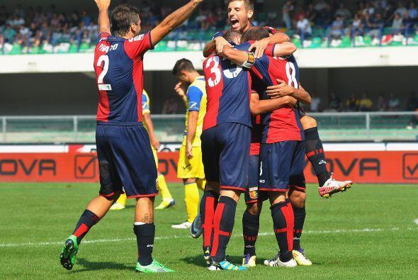 El Genoa esperaba dar una sorpresa en casa del Chievo Verona. Rodrigo pa...