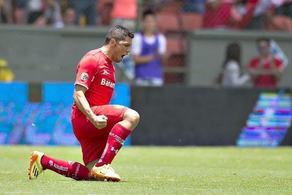 Otro jugador del Toluca que destacó por la garra mostrada y el desgaste...