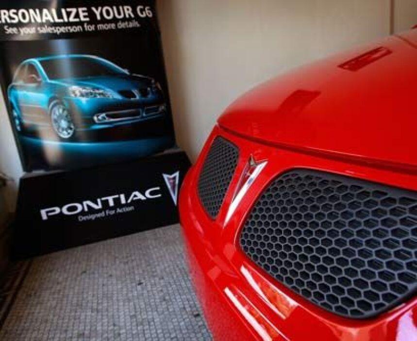 PontiacOtra marca que se fue con la reestructuración de GM fue Pontiac,...