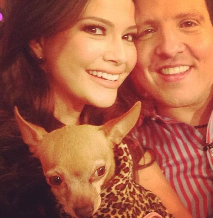 """""""Con mi adorado Raúl en @DespiertaAmericaTv. ¡Un ser humano que adoro y..."""
