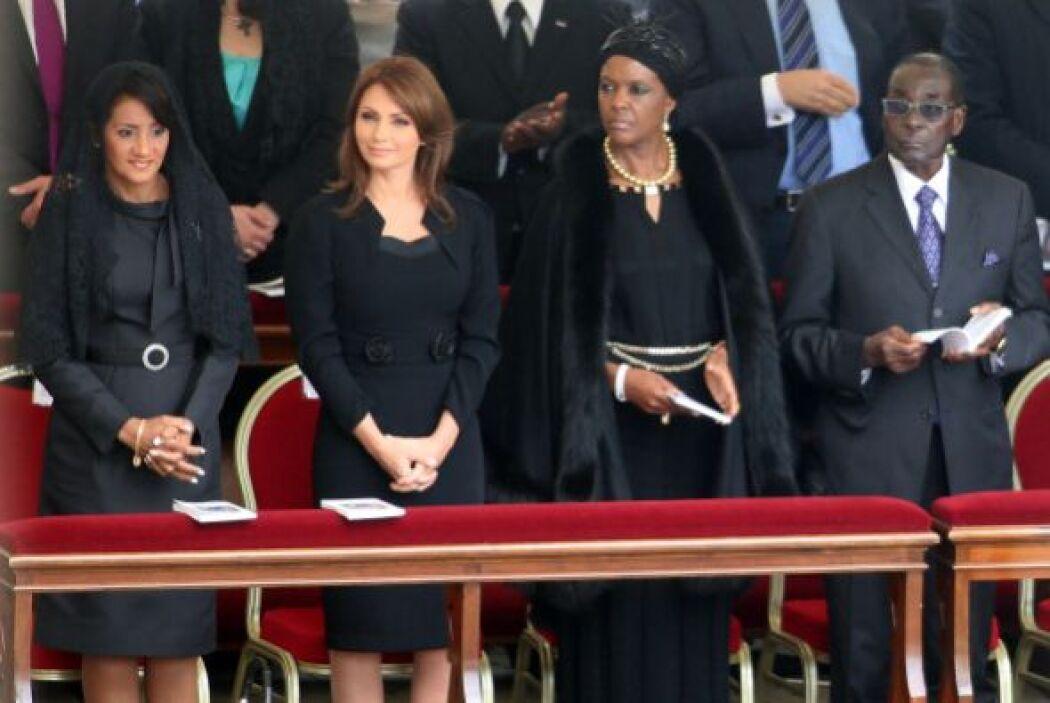 Una imagen de los representantes de diversos países que asistieron a la...