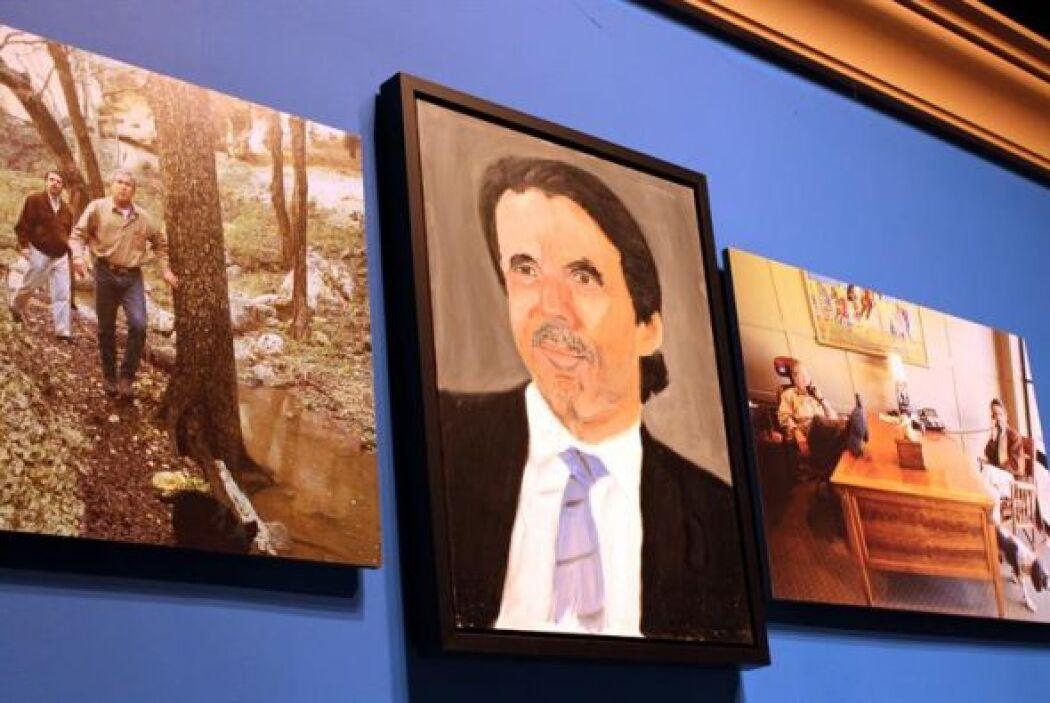 El expresidente del gobierno español José María Aznar tiene un lugar des...