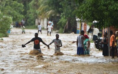 """Damnificados del huracán Matthew en Haití cuentan que lo han """"perdido todo"""""""