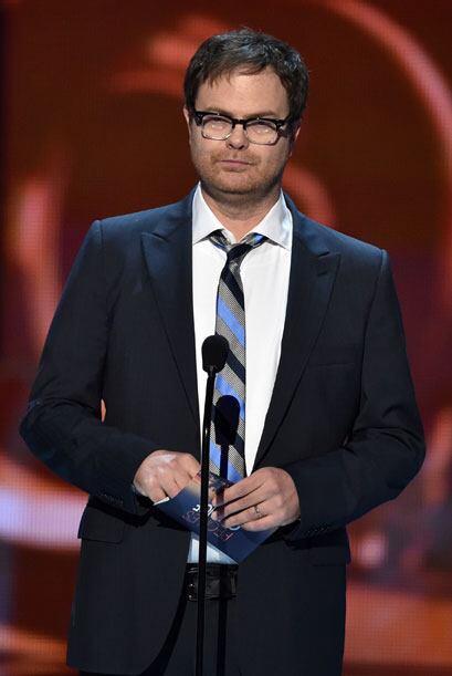El comediante Rainn Wilson entregó la última categoría de la noche.