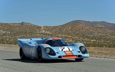 "Porsche presentó un 917K ganador de los ""1,000 kilómetros"" de Spa de 197..."