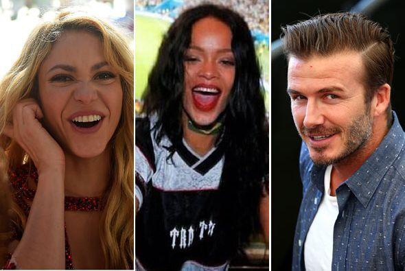 Shakira, Rihanna, Beckham con sus hijos, Tom Brady y Gisele... ¡Mira cóm...