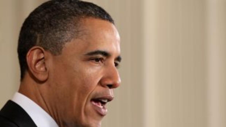 El presidente Barack Obama fue duramente criticado en el debate de los a...