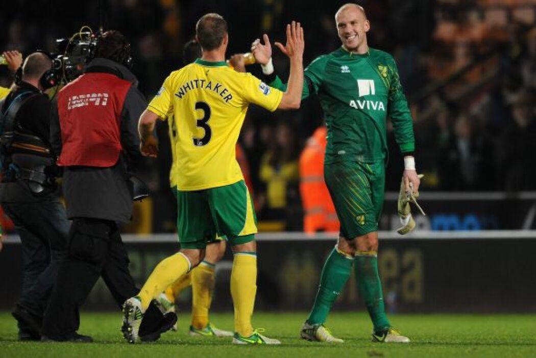 Tres puntos de oro para el Norwich que se aleja de las posiciones de des...