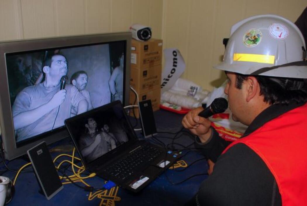 Dijo que los mineros informaron que ya escuchan el tronar de las perfora...