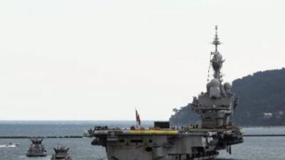 Las fuerzas aliadas aceptaron el martes organizar la misión naval, que e...