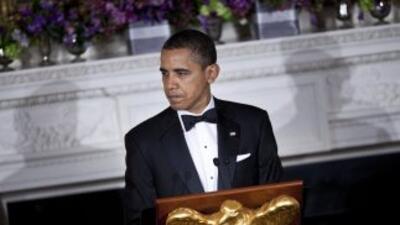 En su discurso radial de los sábados al mandatario acusó a los republica...