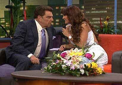 La cantante le cuenta al Don cómo recibió el primer beso d...