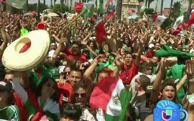 Disturbios y algunos detenidos durante la celebración del triunfo de Méx...