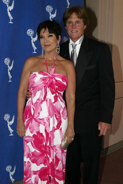En una de las fiestas del Emmy en agosto de 2004. ¿Ella ya so&nti...