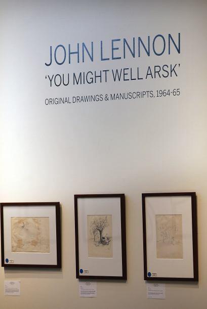 Se trata de la más grande colección privada de obras de Lennon que se ha...