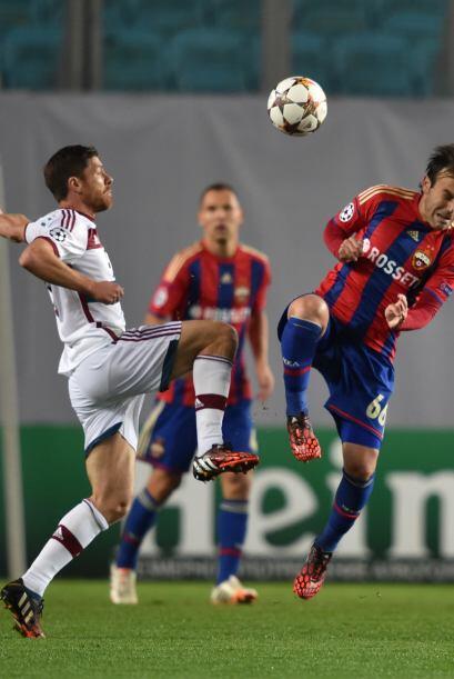 Tras el gol, Bayern Múnich generó pocas oportunidades y no...