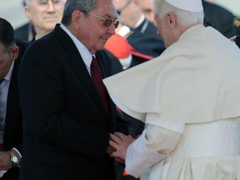 El líder católico mundial, se entrevistó con Ra&uac...