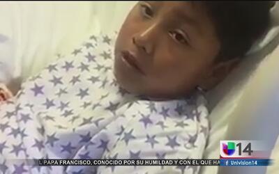 Niño de nueve años resulta impactado por una bala perdida en el día de s...