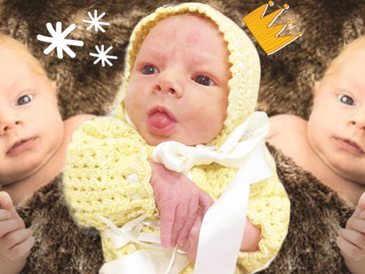 Bebé Marjorie Julián