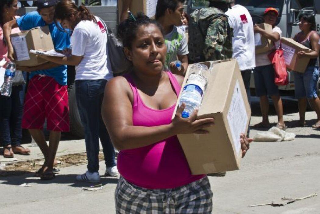 De acuerdo con un comunicado, en coordinación y apoyo a la Cruz Roja Mex...