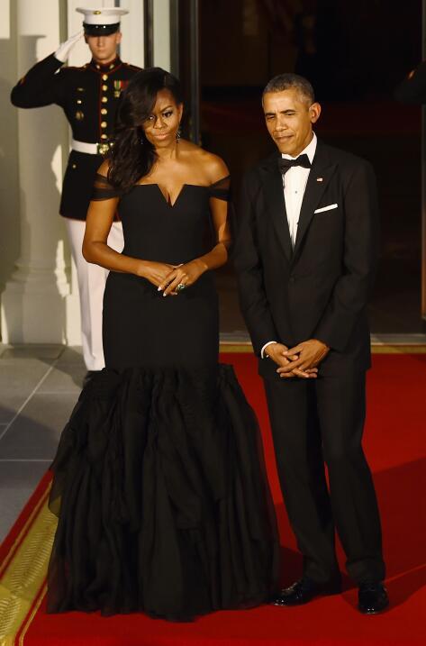 Michelle Obama y su optimismo hecho vestido   GettyImages-490116358.jpg