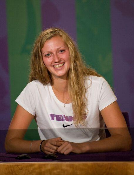 """Por su parte, Kvitova señaló: """"Es difícil enco..."""