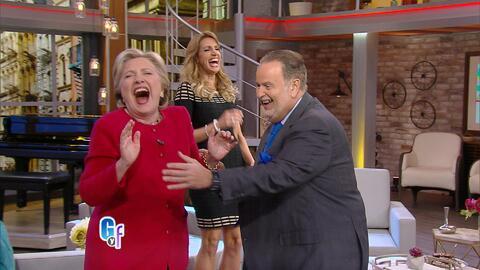 Los mejores momentos de la visita de Hillary Clinton