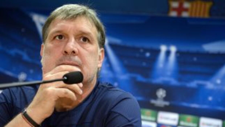 Martino sufrió la pérdida de su padre, pero ha decidido quedarse en Barc...