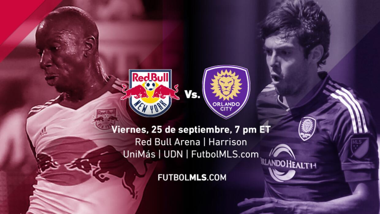 New York Red Bulls Orlando City