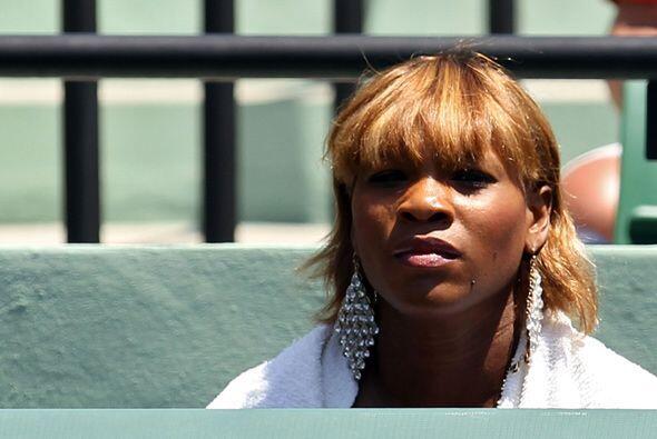 Su hermana Serena estaba muy nerviosa porque veía a Venus sufrir...