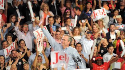 Jeb Bush finalmente anunció su candidatura