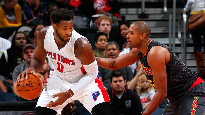 Los Pistons tuvieron una ventaja de 59-40 en rebotes.