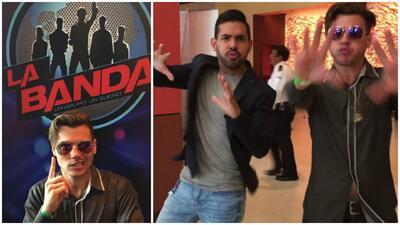 Jovani Vázquez le enseña a José Santana su 'signature move'