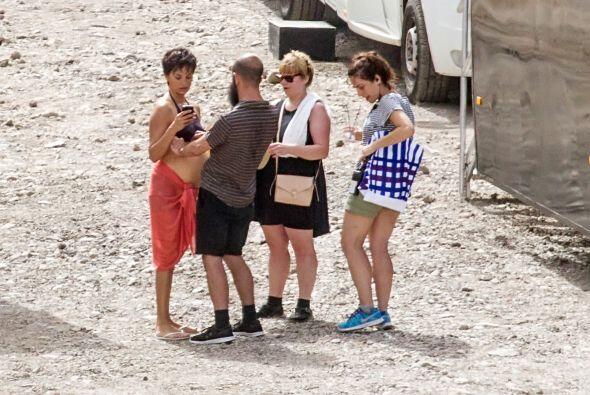 La película se está filmando en la isla de Tenerife en España.Mira aquí...