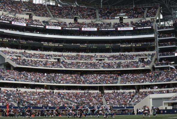 Así lució el Cowboys Stadium, ¡magnífico!