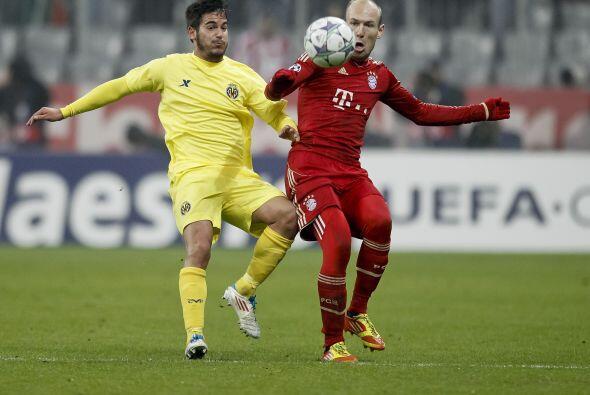 En Alemania, el Bayern Munich recibió al Villarreal.