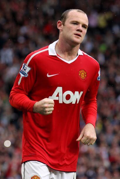 Entre los jugadores con mayor peso esté el ariete Wayne Rooney, que comb...