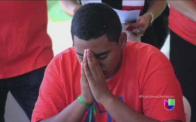 Jóvenes participaron en huelga de hambre por la crisis migratoria