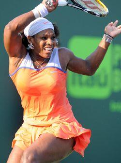 De igual forma Serena Williams está haciendo un gran torneo en Mi...