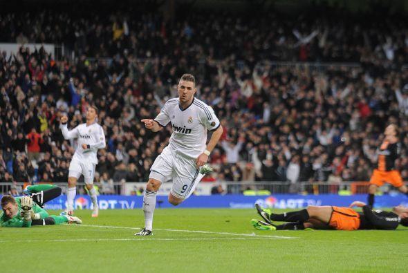 Aunque el Valencia había sido más, el ataque del Madrid prevalecía.