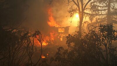 Se extienen incendios forestales a cuatro estados