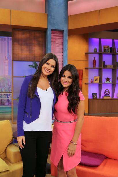 Ana agradeció a esta extraordinaria actriz la oportunidad de entrevistar...