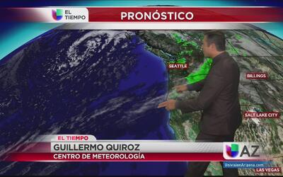 Sistemas de baja presión traen lluvias