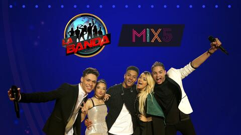 PROMO CARD MIX5 LA BANDA