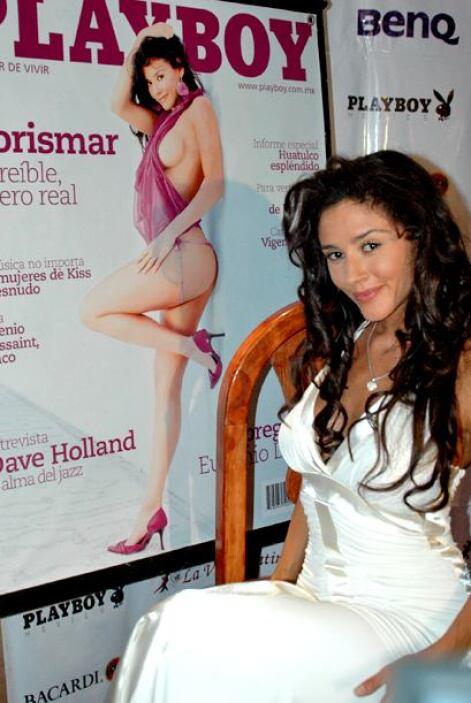 Dorismar comenzó su carrera modelando y dejando muy poco a la imaginación.